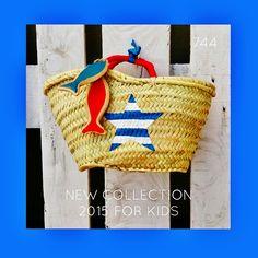 sietecuatrocuatro: NEW COLLECTION ... FOR KIDS ... NUEVA TEMPORADA 2015 ... CAPAZOS DE 744 capazos-beach-bags-summer-verano-sol-sun-playa-beach