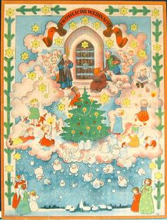 Image result for vintage german christmas cards