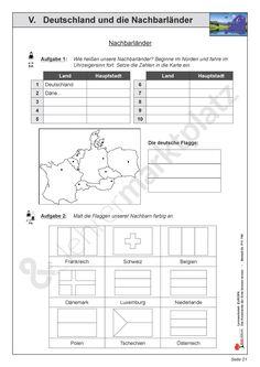 deutschland die bundesl nder und ihre hauptst dte 1 beide karten am besten ausdrucken oder mit. Black Bedroom Furniture Sets. Home Design Ideas