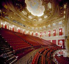 The gorgeous Boston Opera House