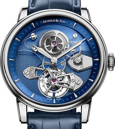 @ArnoldandSon presentó el TES Blue Tourbillon, perteneciente a la #Royal #Collection.