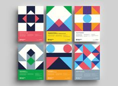 Visual identity and poster series for Barcelona Pensa the edition of the philosophy festival of Barcelona. Graphic Design Books, Book Design, Cover Design, Event Branding, Branding Design, Typography Poster Design, Creative Review, Geometric Poster, Geometry Art