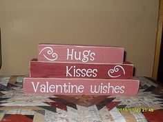 Valentines Day stackers