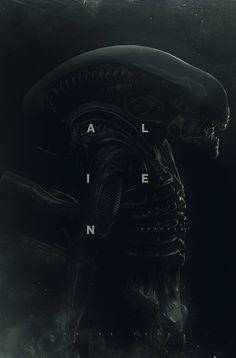 Alien: Tribute on Behance Cool Wallpapers For Phones, Gaming Wallpapers, Phone Wallpapers, Alien Vs Predator, Prometheus Movie, Alien Isolation, Alien Covenant, Miniature Photography, Predator