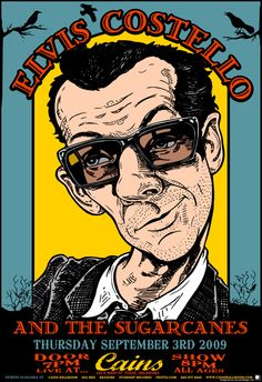 Elvis Costello by A Studio