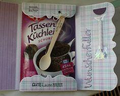 Steffi´s Stempelkeller : Tassenkuchenkarte #2 im Set
