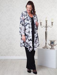 Jo Black/White/Grey Jacket