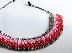 Safety Pin Art, Safety Pin Crafts, Safety Pins, Safety Pin Bracelet, Safety Pin Jewelry, J Necklace, Arrow Necklace, Beaded Jewelry, Jewelry Necklaces