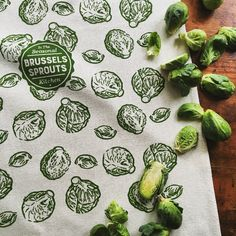 Our Seasonal Kitchen Series Of Dish Towels Feature The Best Of Winters  Bounty. Brussels Sprouts