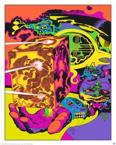 70s Sci-Fi Art: Jack Kirby's never-before-colored concept artworks...