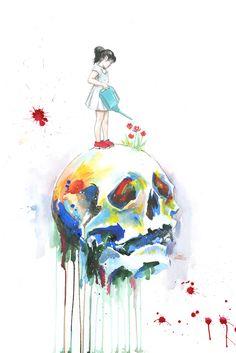 Skull - Lora Zombie