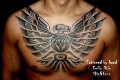 SKiN: More Haida Tattoos done using Traditional Hand Tools