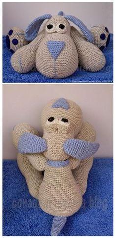 Amigurumi Dog Cutie #amigurumi #amigurumipattern #amigurumitutorial #crochettoys #crocheting #crochettutorial
