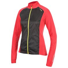 Love how breathable, yet protective, this Saucony Women's Transcendence Jacket is.