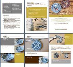 Crochet Photo Tutorial Yin Yang Paisley Jewelry Dish by goolgool