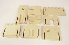 Modular Building Walls Manzanita Kids Classic by manzanitakids