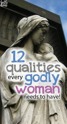 These 12 characteristics of a godly woman come straight from the Bible. By adding them to your life, you'll be a true woman of God that blesses others! Christian Friends, Christian Wife, Christian Living, Christian Devotions, Christian Encouragement, Biblical Marriage, Strong Faith, Proverbs 31 Woman, Fear Of The Lord