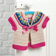 Children's Cardigan, Crochet Pattern, Crochet Jumper, Child's Crochet, Instant Download, Simply Crochet, Pretty Jumper, Kids, Simone Francis