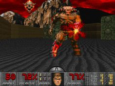 One of Id Software's greatest games, Doom brought a ton of crazy fast-paced combat to the FPS genre, and effectively brought it to the mainstream.