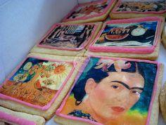 Frida Kahlo de Rivera (Spanish pronunciation: [ˈfɾiða ˈkalo]; born Magdalena Carmen Frieda Kahlo y Calderón; July 6, 1907 – July 13, 1954)  was a Mexican painter  who is best known for her self-portraits.