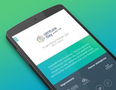 "Check out new work on my @Behance portfolio: ""Venture Day Events 2014 App - graphic design"" http://on.be.net/1M7nsTp"