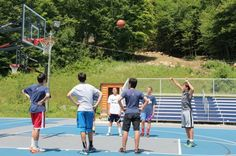 How many free throw shots have you made at Camp Walden NY? #heshoots #hescores #gameon