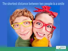 "Smile Quote 2: ""The Shortest Distance Between Two People Is A Smile"" Wertz Orthodontics, 855 Norman Drive, Lebanon, PA 17042, P: 717.273.9780 #orthodontics #Lebanonbraces #Lebanonorthodontics  #BracesinLebanon #Smilequote #teethcaring"