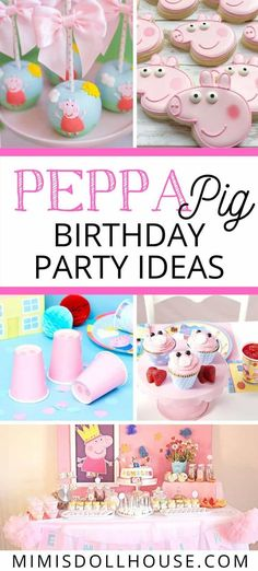 Peppa Pig Birthday Party Ideas | Mimi's Dollhouse