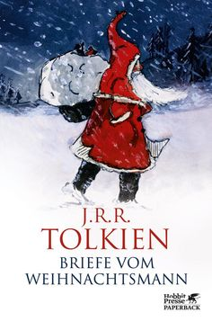 """""""When John (Tolkien's son) was 3 he got his first letter from Father Christmas. From 1920 until 1943 Tolkien wrote letters, as Father Christmas, to his children. They were accompagnied by lots of funny pictures. Father Christmas Letters, Best Christmas Books, Christmas Fun, Christmas Cover, Christmas Lyrics, Christmas History, English Christmas, Christmas Decorations, Christmas Child"""
