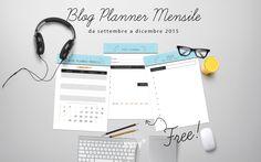 Blog planner scaricabile gratuito, per il piano editoriale del tuo blog!