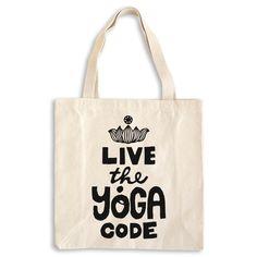 Live the yoga code - Yoga tote