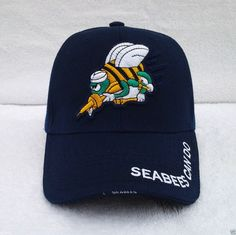 SEABEES CAN DO Military Veteran Hat 412 KN MT #BaseballCap Veteran Hats, Military Veterans, Us Navy Hats, Baseball Cap, Beanie, Canning, Best Deals, Fashion, Baseball Hat