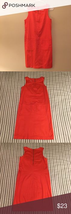 Lissa Mar Coral Dress Bright Lissa Mar size 4 dress. Perfect for summer. Very good condition. Lissa Mar Dresses