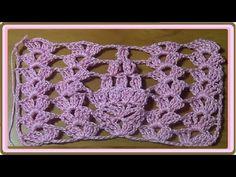 Muestra para manta de verano Crochet - YouTube