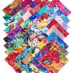 Amazon.com: Kaffe Fassett Philip Jacobs NEW LEAFY FLORALS 5-inch Cotton Fabric Quilting Squares Charm Pack Assortment Westminster Fibers: Arts, Crafts & Sewing