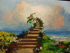 Images of Heaven   Kunstnet / Werke / Malerei / Sonstiges / Stairway to Heaven