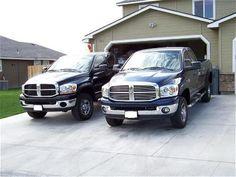 His & Her's Dodge Ram Trucks