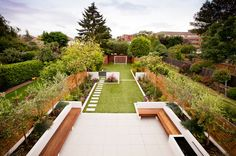 Contemporary Garden by Echinops Garden Design