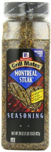 McCormick Grill Mates Montreal Steak Seasoning, 29 ounce - http://spicegrinder.biz/mccormick-grill-mates-montreal-steak-seasoning-29-ounce/