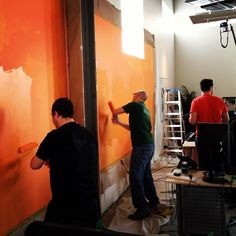 Office painting Denver #the1stmovement