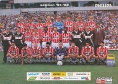 PSV seizoen 1991-92 - eindhoveninbeeld.com