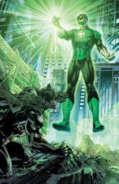 Batman & Green Lantern//Jim Lee
