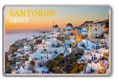 Santorini Greece fridge magnet.!!!