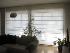 Roman Blinds, Window Coverings, Stores, Kitchen Interior, My House, New Homes, Loft, Hunter Douglas, Windows