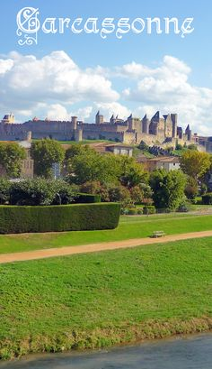 The formidable fortress of Carcassonne. #Carcassonne #Aude #Occitanie