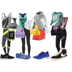 """For the Love of Nike!"" by baileypedersen on Polyvore"