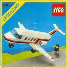 Lego Jet Airliner 6368 Town System 1985 Vintage Legoland for sale online Lego Airport, Lego Plane, Lego Sets, Gi Joe, Classic Lego, Lego Boards, Lego System, Lego For Kids, Vintage Lego