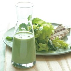 We suggest pairing this garlicky dressing with mixed greens such as Boston lettuce and watercress, or drizzling it over grilled tofu or chicken for a light yet satisfying meal. If you prefer a milder dressing, cut back the garlic to two teaspoons. Recipe adapted from Kripalu Center for Yoga & Health, in Stockbridge, Massachusetts.