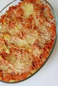 coliflor con tomate al horno | coliflor con tomate gratinada Vegetarian Recepies, Yummy Vegetable Recipes, Casserole Recipes, Pasta Recipes, Kitchen Recipes, Cooking Recipes, Clean Recipes, Healthy Recipes, Pesto