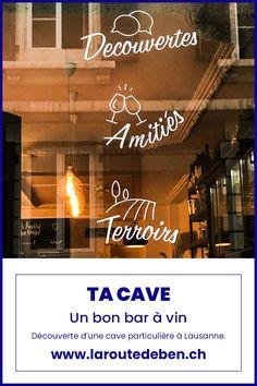 Ta Cave à Lausanne est un bar à alcool situé sous la gare de la ville. Elle regorge d'un grand panel de vin et de boissons. #lausanne #vaud #vin #alcool #suisse Lausanne, Petits Bars, Bar A Vin, Broadway Shows, Large Painting, Train Station, Switzerland, Alcohol, Drinks
